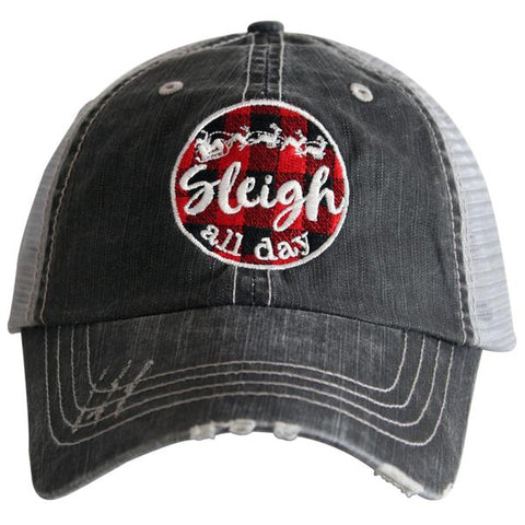 """Sleigh All Day"" Trucker Hat"