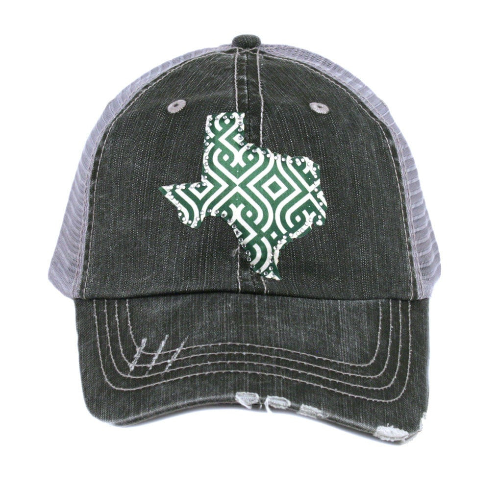 Rhinestone Ikat Texas Trucker Hat | Beri and Nicole's Boutique | Women's Clothing, Accessories, Jewelry, and Home Decor and Goods