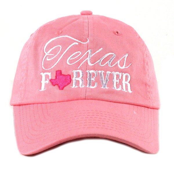 """Texas Forever"" Baseball Hat 