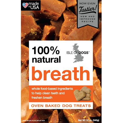 Breath 100% Natural Baked Treat - Featuring Parsley and Toffee Flavor