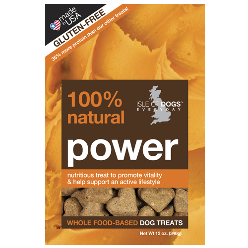 Power 100% Natural Baked Treat -  Featuring Peanut Butter and Protein