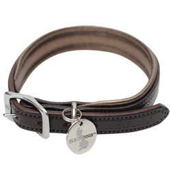 Bronze Leather Collar