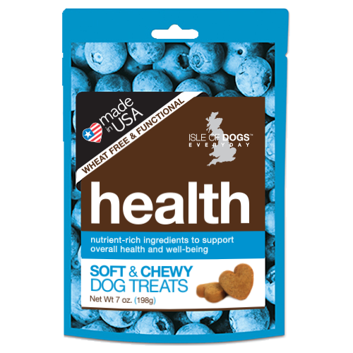 Health Soft & Chewy Dog Treat -                                                           Featuring Apples & Blueberries
