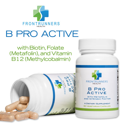 B Pro Active – Vitamin B Complex with Folate