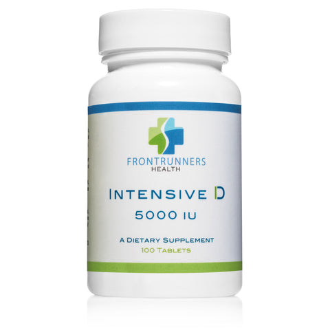 Intensive D 5000 IU- Vitamin D by Frontrunners Health