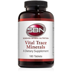 SBN – Vital Trace Minerals – 180 Tabs – Essential Mineral Supplement