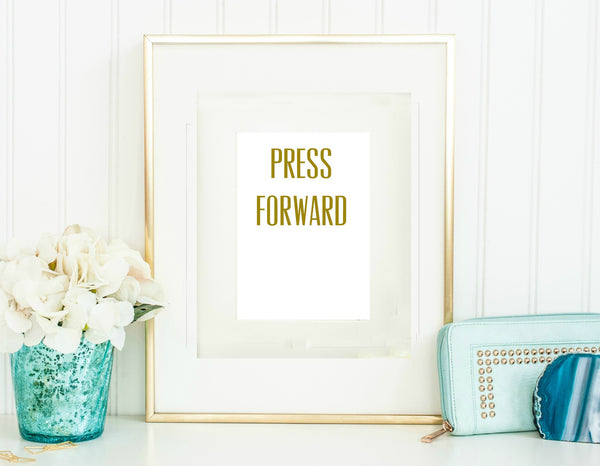 "5"" x 7"" Press Forward Cards"