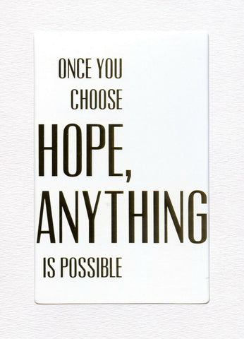 "5"" x 7"" Choose Hope Cards"