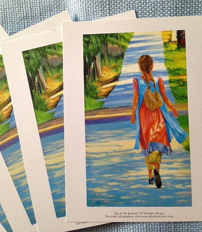 "5"" x 7"" Joy in the Journey Cards"