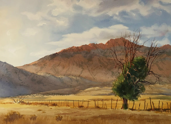 Original Watercolor - North East from St. George Utah