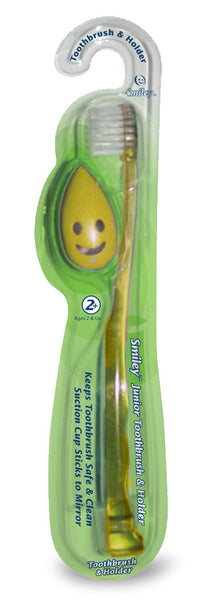 Smiley™ Toothbrush & Holder