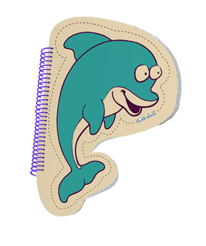 Lil' Scribblez™ - Dolphin Notepad