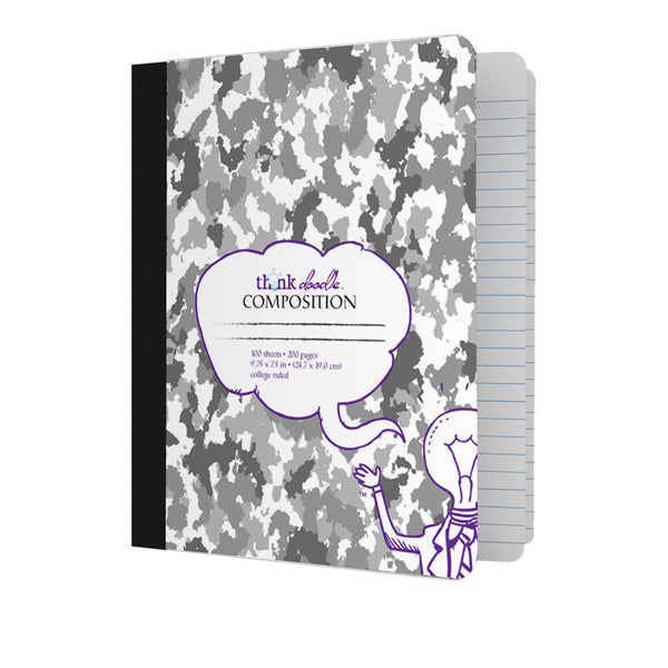 Composition Books - Camo