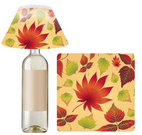 Autumn Leaves BottleBrite Party Light