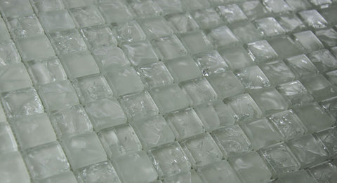 CY1174 - Clear Crackle - 1x1""