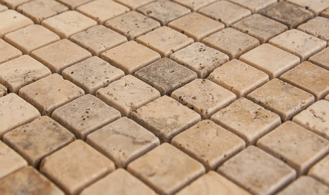 SCABOS - Beige Honed - 1x2""