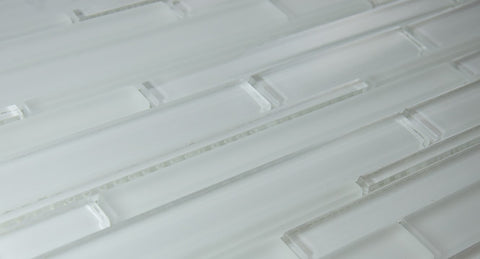 CANE SERIES - Super White Glass - 12x12x5/16""