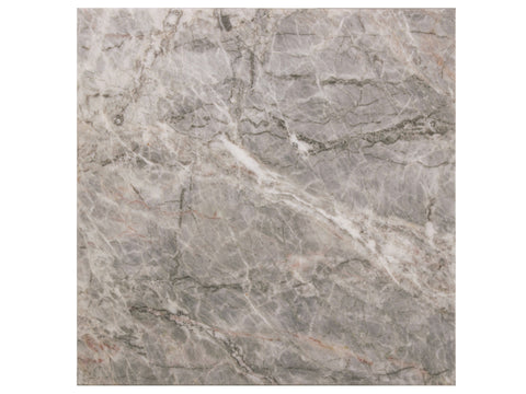 MOUNTAIN GRAY - Grey Marble Polish - 12x12""