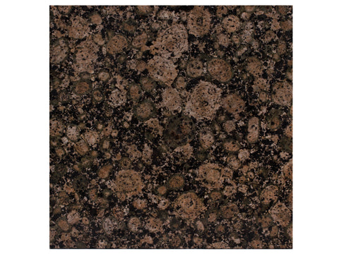 BALTIC BROWN - Granite Polish - 12x12""