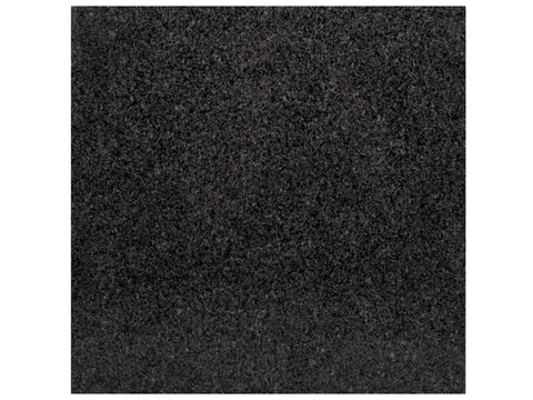 IMPALA BLACK - Granite Polish - 12x12""
