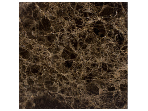 BROWN EMPERADOR - Marble Polish - 12x12""