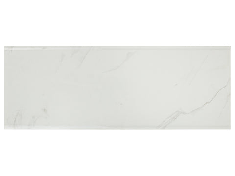 CARRARA BEVELED - Polish Ceramic Wall Tile - 10x26""