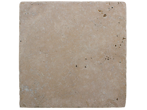 SCABAS - Tumbled Travertine - 12x12""
