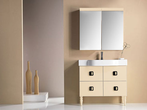 PLAY VANITY SET - Beige Shiny - 35""