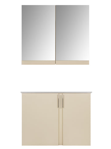 AMAZON VANITY SET - Beige Shiny - 32""