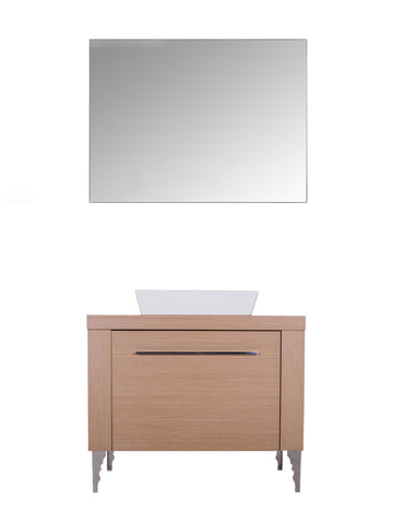 INSOMNIA VANITY SET - Oak - 36""