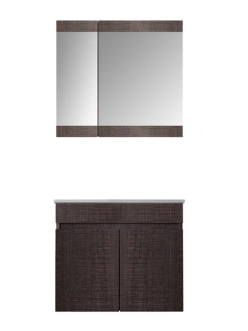 MAGNOLIA VANITY SET - Dark Grey - 24""