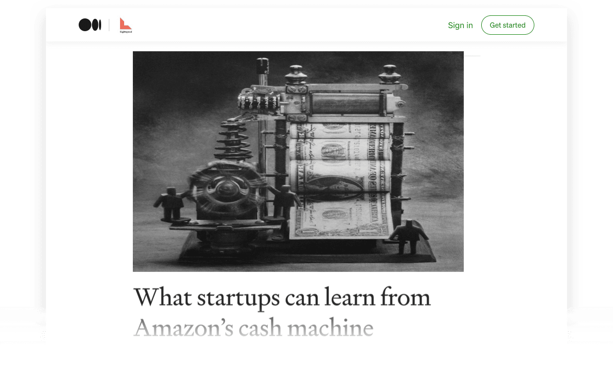 What Startups Can Learn from Amazon's Cash Machine