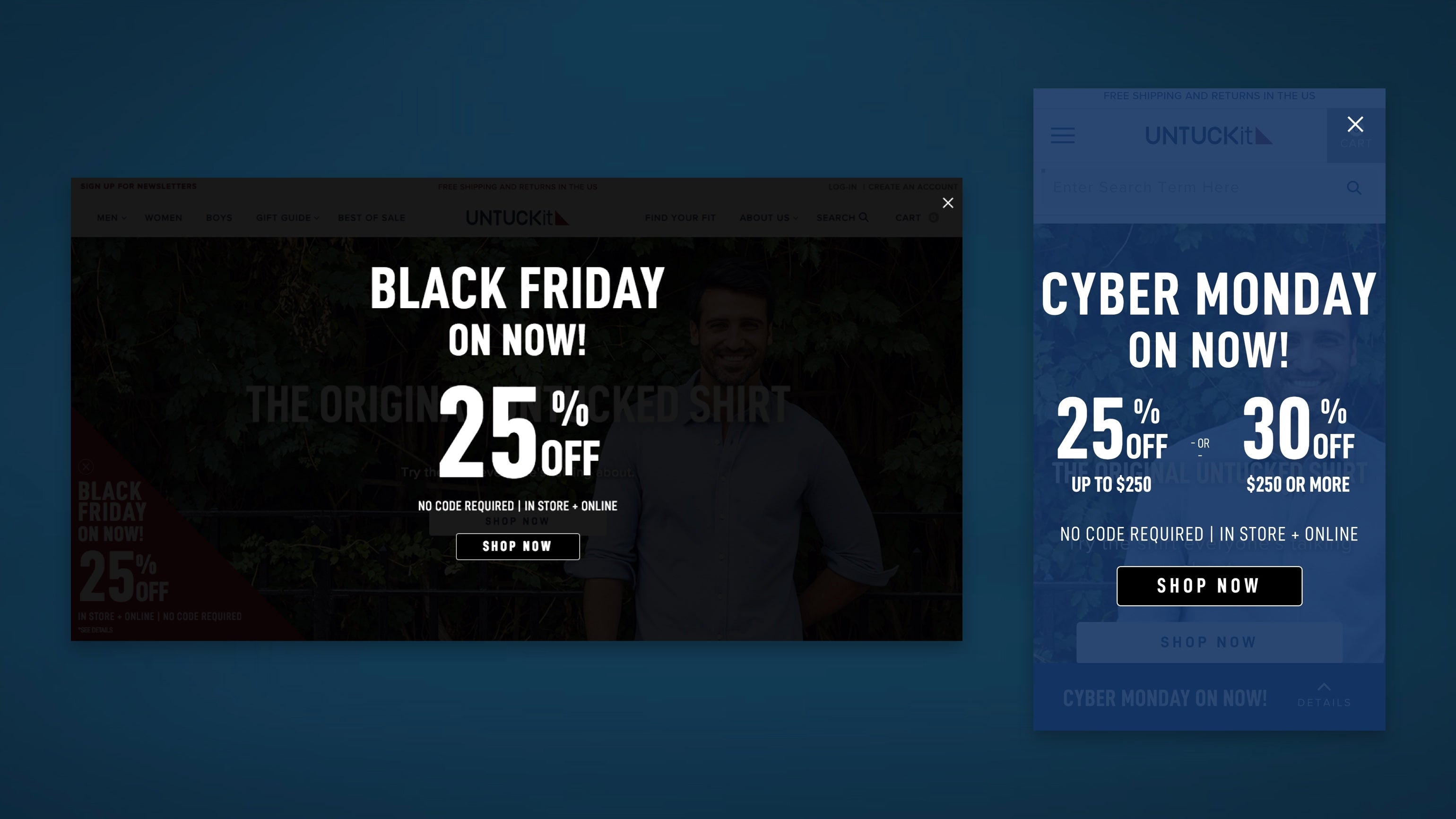 Black Friday, Cyber Monday changes onsite to UNUCKit