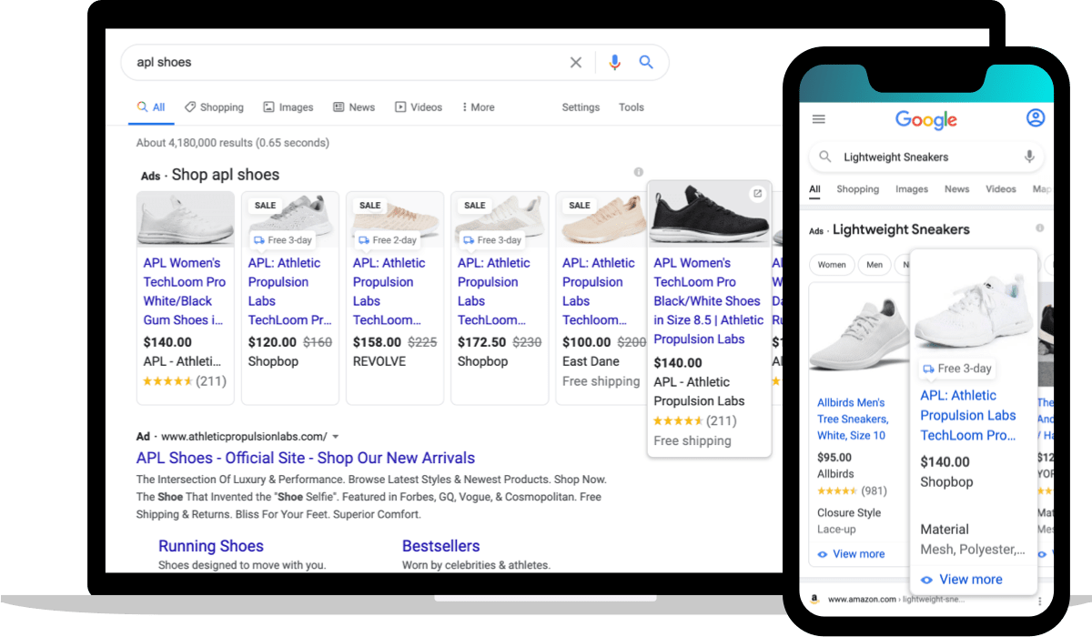 Brand and Non-Brand Google Ads Ecommerce Examples
