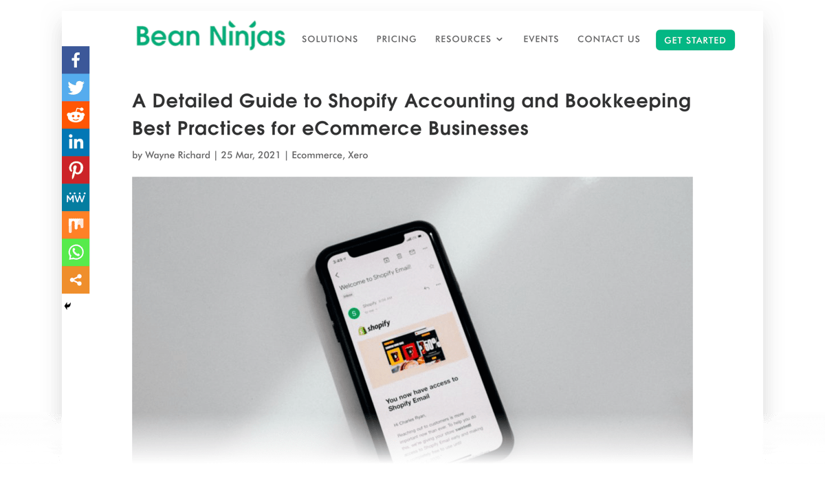 Shopify Accounting and Bookkeeping Best Practices for Ecommerce Businesses
