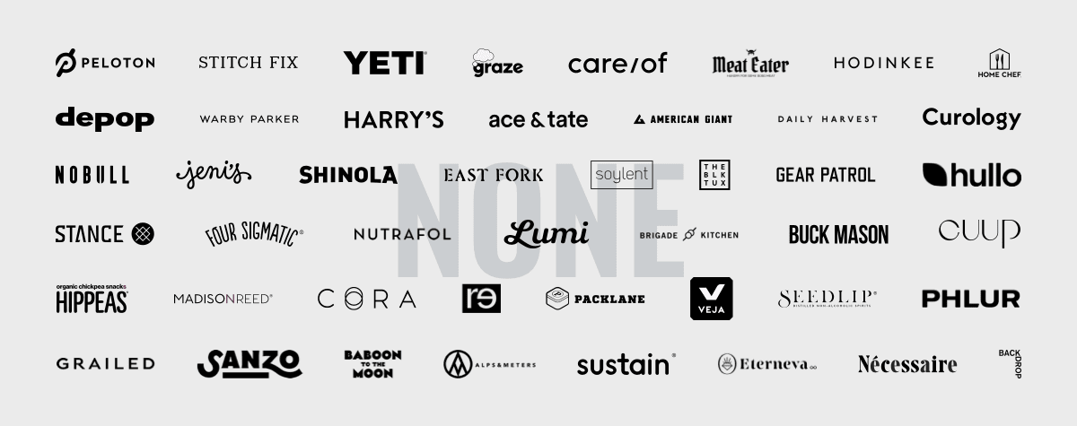 ecommerce retailers who offered no discounts within their holiday campaigns
