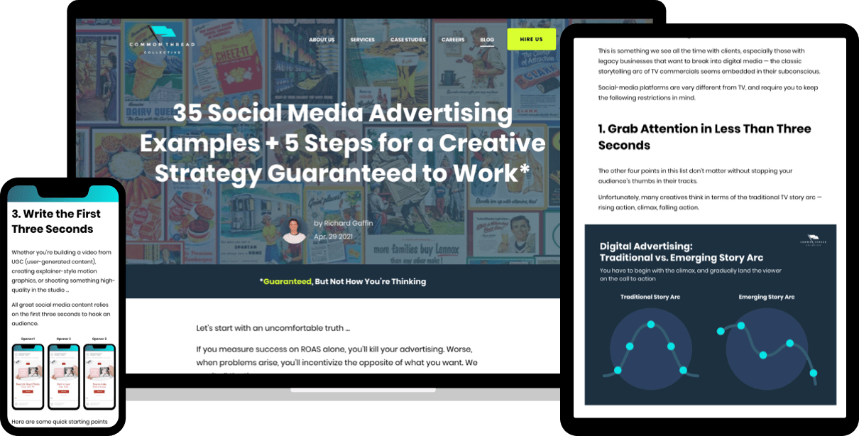 35 Social Media Advertising Examples + 5 Steps for a Creative Strategy Guaranteed to Work