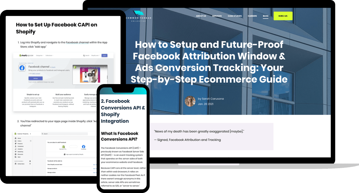 Facebook Attribution Window and Ads Conversion Tracking Guide