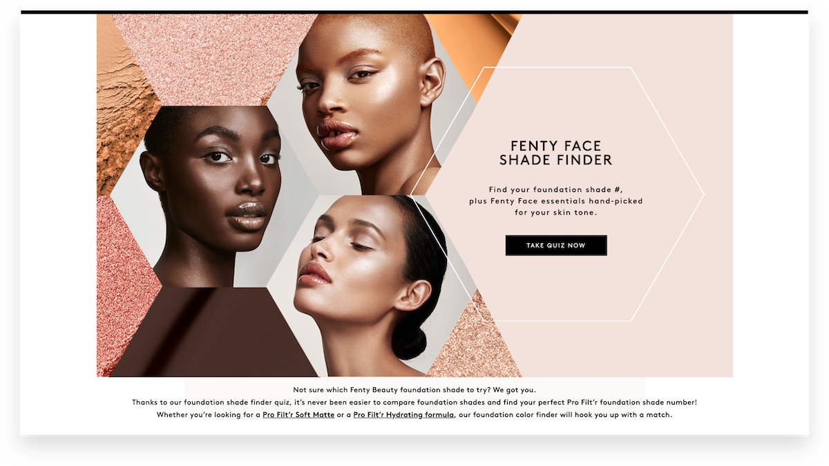 "Fenty Face Shade Finder: ""Beauty for All"""
