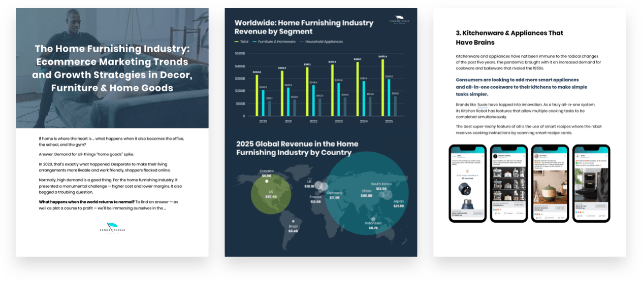 Home Furnishing: Ecommerce Marketing Industry Report