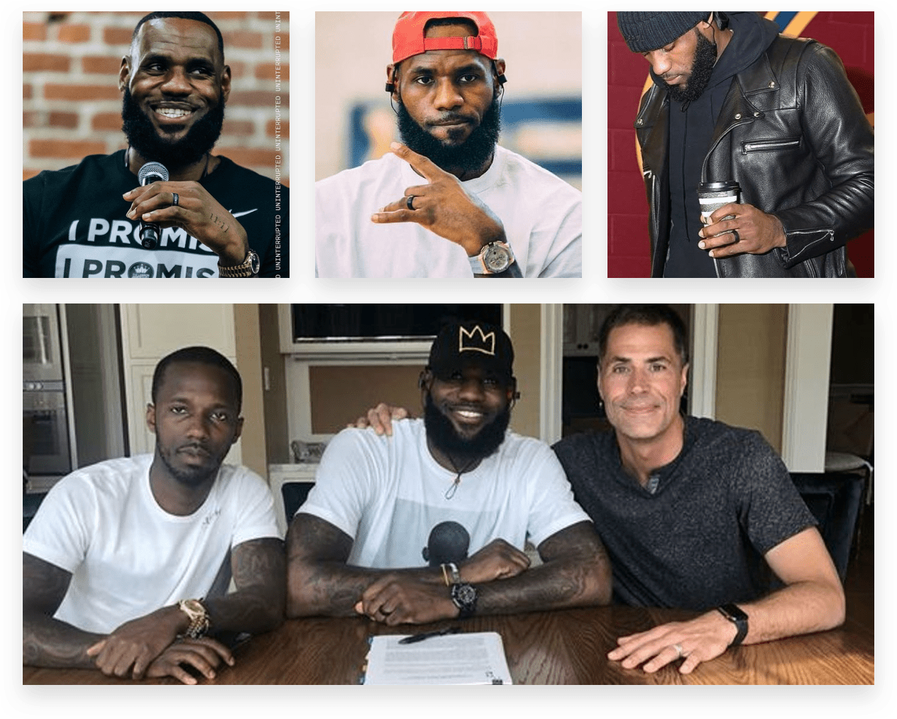 Lebron James acts as an influencer to the influencers for ecommerce brand QALO