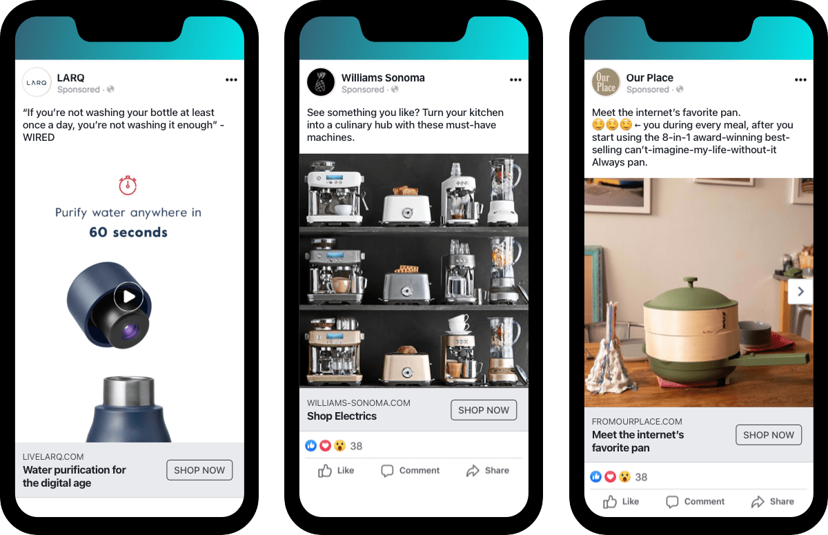 home furnishing smart kitchen ad examples industry trend