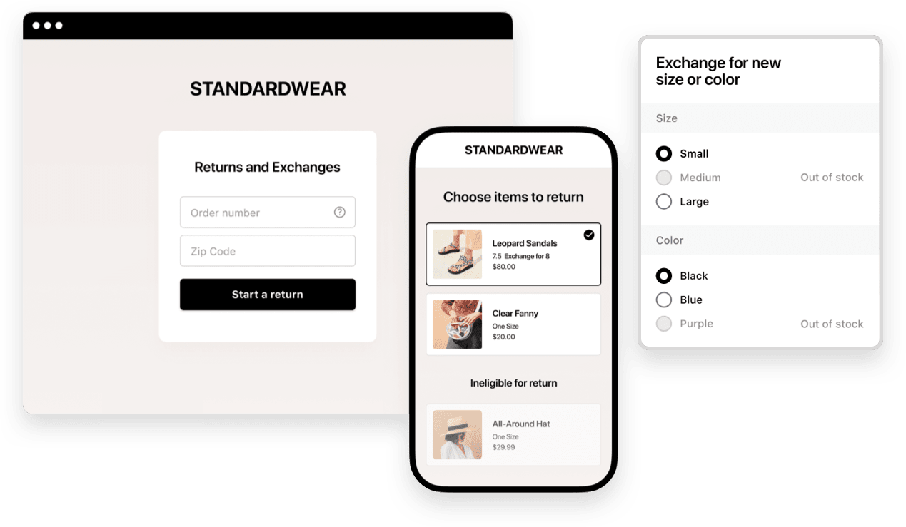Loop encourages exchanges rather than returns for ecommerce fashion brands