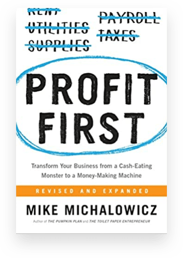 Accounting books for ecommerce business owners: Profit First