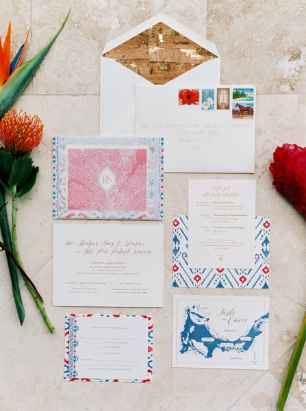 Two Be Wed Invitation Flatlay, Wedding invitation inspiration