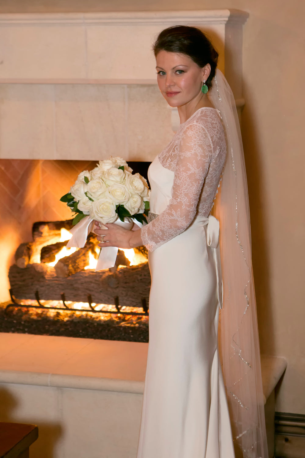 Miles David by David Peck, Custom Wedding Gown, Houston Wedding,