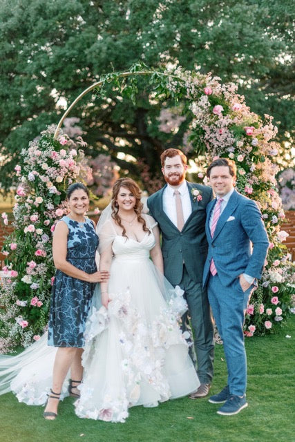 Windy Knoll Farms Round Rock Texas Custom Wedding Gown David Peck