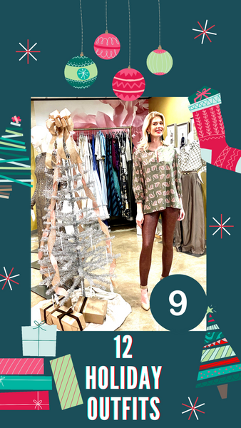 12 Days of Holiday outfits with David Peck