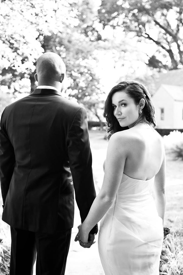 Miles David by David Peck, Custom Wedding Gown, Chicago Wedding,