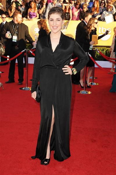 Myam Bialik SAG Awards David Peck Gown
